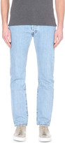 Levi's 501 regular-fit mid-rise jeans