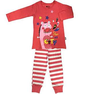 Camilla And Marc My City Girl Long Sleeve Pyjamas - Size - 4/5 Years (104/110 cm)