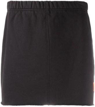 Heron Preston Logo Patch Elasticated Waist Skirt