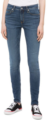 Calvin Klein Jeans Super Skinny Jean Mid