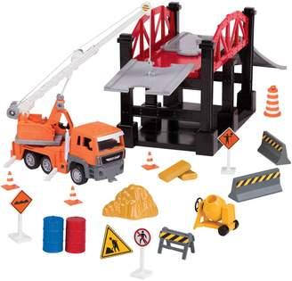 Driven Construction Site Bridge Set