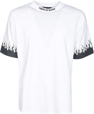 Vision of Super Flame Sleeve T-shirt