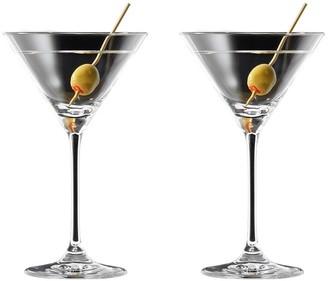 Cellar Premium 2 Piece Martini Glass Set 210ml