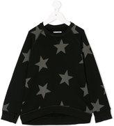 Nununu star print sweatshirt