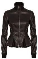Givenchy Peplum Leather Jacket