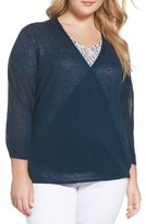 Nic+Zoe Plus Size Women's Four-Way Convertible Cardigan