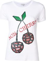 Natasha Zinko 'Mon Cherry' T-shirt - women - Cotton/Spandex/Elastane - S