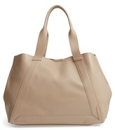 Sole Society Decklan Faux Leather Tote - Beige