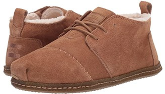 Toms Bota (Toffee Suede/Faux Shearling) Women's Lace up casual Shoes