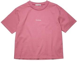 Acne Studios Classic T-shirt Violet Pink