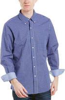 J.Mclaughlin Westend Trim Fit Woven Shirt