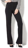 New York & Co. 7th Avenue Pant - Straight Leg - Modern - Double Stretch