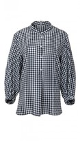 Tibi Viscose Gingham Tunic