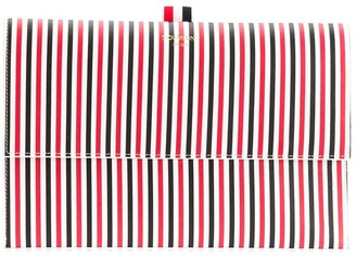 Thom Browne Striped Clutch Bag
