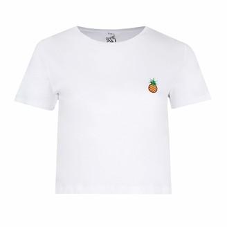 Logo Mania Women's Pineapple T-Shirt