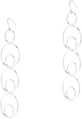 Amorcito Platinum Neptune Earrings