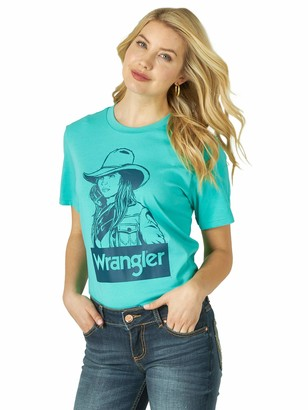 Wrangler Women's Short Sleeve Graphic T-Shirt