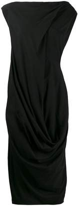 Rick Owens draped dress
