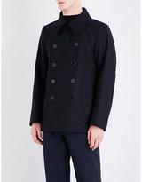 Dries Van Noten Rodrique Double-breasted Wool Coat