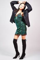 Forever 21 FOREVER 21+ Sequined Cami Dress