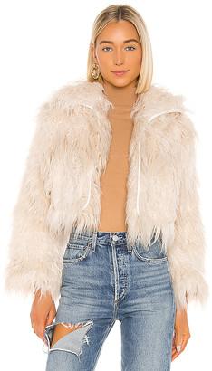 One Teaspoon Axel Faux Fur Jacket