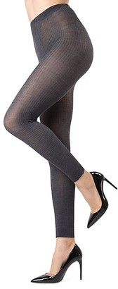 Me Moi Ribbed Footless Tights