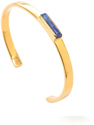 Jewel Tree London Urban Mini Cuff Lapis Lazuli