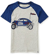 Lucky Brand Big Boys 8-20 Roadster Short-Sleeve Raglan Graphic Tee