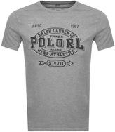 Ralph Lauren Logo T Shirt Grey