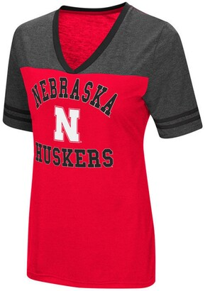 Colosseum Women's Nebraska Cornhuskers Whole Package T-Shirt
