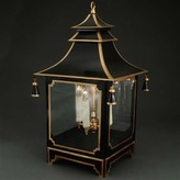 The Well Appointed House Large Black Pagoda Lantern- CURRENTLY ON BACKORDER -