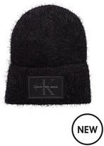 Calvin Klein J Fuzzy Beanie Hat