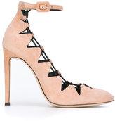 Giuseppe Zanotti Design Flora pumps - women - Leather/Suede - 37.5