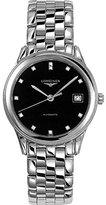 Longines Flagship L47744576 36mm Silver Steel Bracelet & Case Synthetic Sapphire Men's Watch