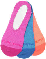 Converse Marled No Show Liners - 3 Pack - Women's