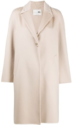 Manzoni 24 Fitted Single-Breasted Coat