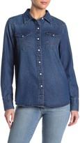 Wrangler Long Sleeve Denim Shirt