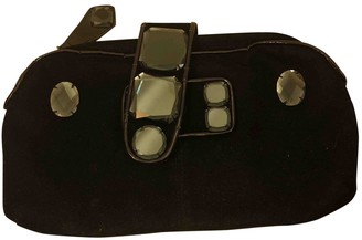 Sonia Rykiel Black Polyester Clutch bags