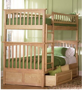 Viv + Rae Henry Bunk Bed with Storage Configuration: Twin over Twin,