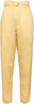 Isabel Marant Nesto belted poplin trousers