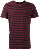 A.P.C. striped pocket T-shirt - men - Cotton - L