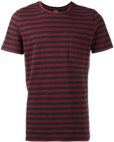 A.P.C. striped pocket T-shirt - men - Cotton - XL
