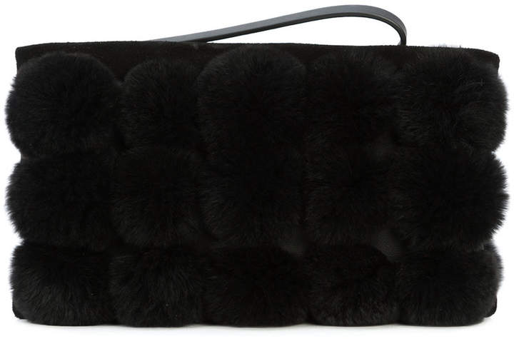 Alexander Wang Roxy cage dome stud clutch