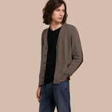 Burberry Colour Block Cashmere Cotton Cardigan