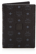 MCM Visetos Passport Holder