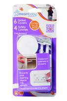 Dream Baby Dreambaby Pack Of 6 Socket Covers And 4 Safety Catches (White)