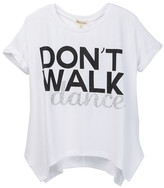 Ten Sixty Sherman Don't Walk Dance Tee (Big Girls)