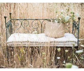 Eastford Heavily Distressed Metal Twin Daybed with Mattress August Grove