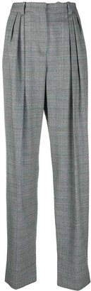 Emporio Armani High-Waisted Tapered Trousers