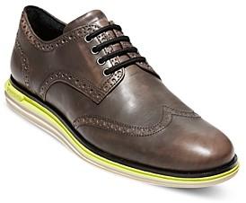 Cole Haan Men's Original Grand Wingtip Leather Oxfords